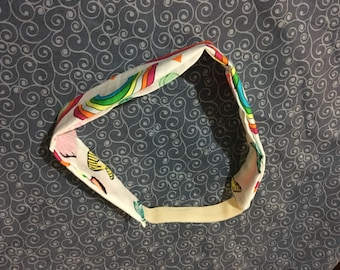 Girls reversible headband