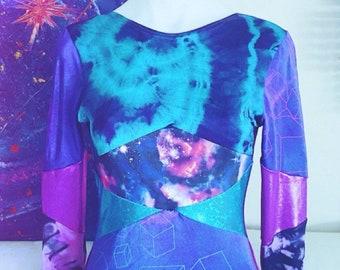 Psychedelic Festival Spandex Bodysuit