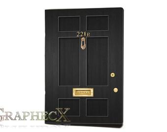 Sherlock Holmes, John Watson inspired personalized journal notebook