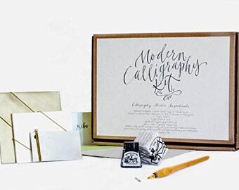 Kit di calligrafia da Kirsten Burke - principianti Gift Set - adulto Starter Kit