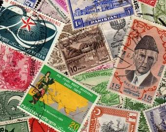 Pakistan Stamps, 25 Diff, Pakistan Postage Stamps, Postage Stamps, Stamps, Asian stamps, Asia postage stamps, Asia