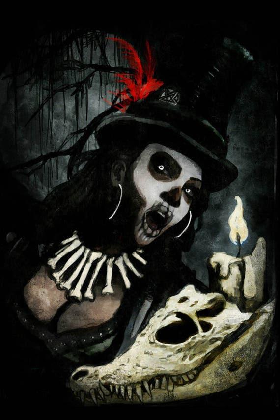 Voodoo Queen archival photo print