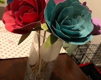 Disney Paper Flower Bouquet