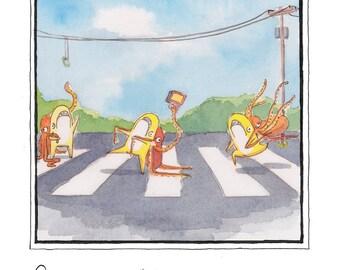 "Spongemeat Comics: ""Octo Fad 1"""