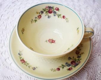 Thomas Ivory/Bavaria/Vintage tea cup and saucer/Teacups/