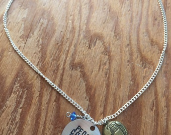 """Girl Meets World Inspired Hand-Stamped Necklace - """"People Change People"""""""
