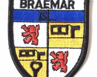 Breamar Embroidered Patch