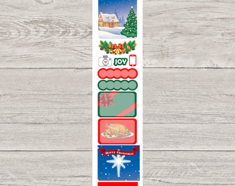 DECODAYS Christmas Planner Stickers