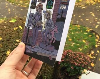 José y Maria Xmas Card - 5pk