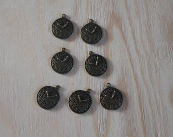 Bronze pendulum pendant