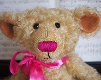 Jack teddy bear mohair handmade