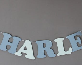 Garland name cotton paper coated 2 stars