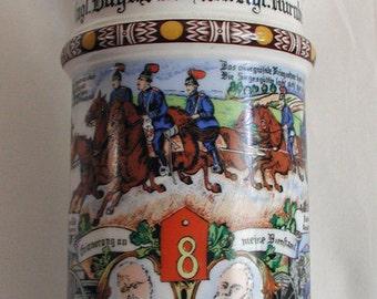 Regimental Beer Stein