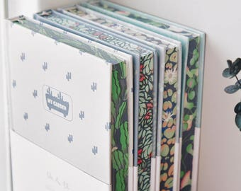 Cute Lined Notebook, Cute Floral Journal, Cute School Notebook, Cute Notebook 2017, Cute Pastel Notebook, Hardcover Patterned Notebook,