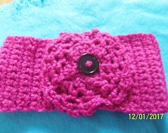 Pink girl headband