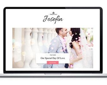 Responsive Blogger Template- Josefine - Fashion Blog Theme