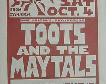 Toots & The Maytals, Aylesbury