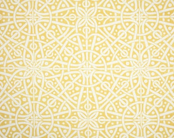 Galaxy Marigold, Magnolia Home Fashions - Cotton Upholstery Fabric By The Yard