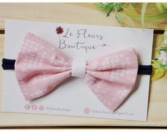 Meadow Pink - Classic Bow
