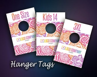 Hanger Tags - Size Divider for Clothes Racks - Clothing Rack Dividers - Instant Download - Home Office Approved Color&Fonts
