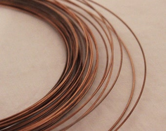Copper Wire Solder, 5 ft. Coil, 18 Gauge, Supplies, Tools, Findings
