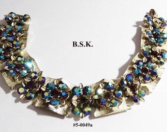 FREE SHIP Stunning BSK Aurora Borealis Bracelet