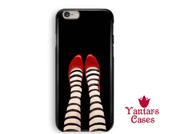 Wicked witch iPhone 7 case iPhone 6 case Cool iPhone 5 case Ruby red slippers iPhone 8 case iPhone 8 Plus case Legs iPhone X case black