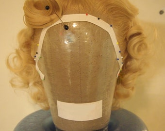 Vintage Styled Lace Front Wig