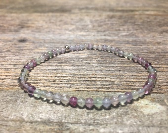 Fluorite Healing Bracelet [clarity, flow, tapping into your purpose]