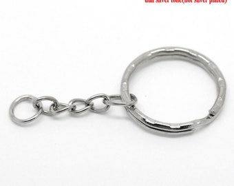 1 rings round key metal 5.3 cm charms