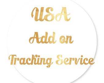 International add on tracking service