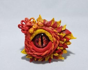 Dragon Eye of Fire Magnet