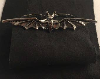 Vampire Bat Double Ring