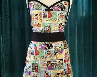 Housewife Comics Apron   *Ready to Ship