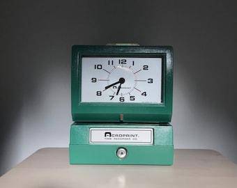 Acroprint Clock, Model 125NR4