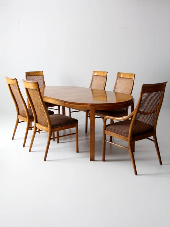 Consensus by Drexel dining table set circa 1977