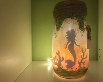 Mermaid light