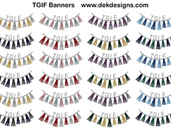 TGIF Banners