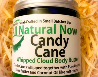Candy Cane Whipped Body Butter | Pure & Organic |