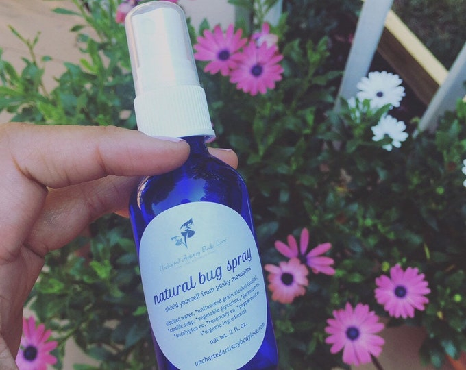 Featured listing image: Bug Spray, Natural Bug Repellent, Mosquito Spray, Deet Free Bug Spray, Mosquito Repellent, Insect Spray, 2oz