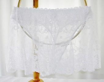 Marilyn Monroe Sheer Lace panties Unworn New Size Large