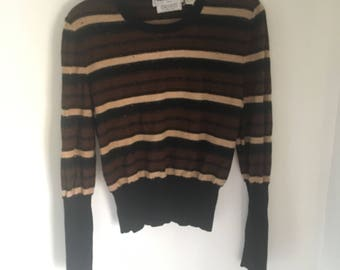 Sonia Rykiel for Bergdorf's vintage late '70s early 80s sweater