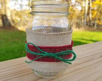 Christmas Joy Mason Jar
