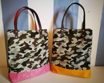 Military Fantasy Bellows Bag