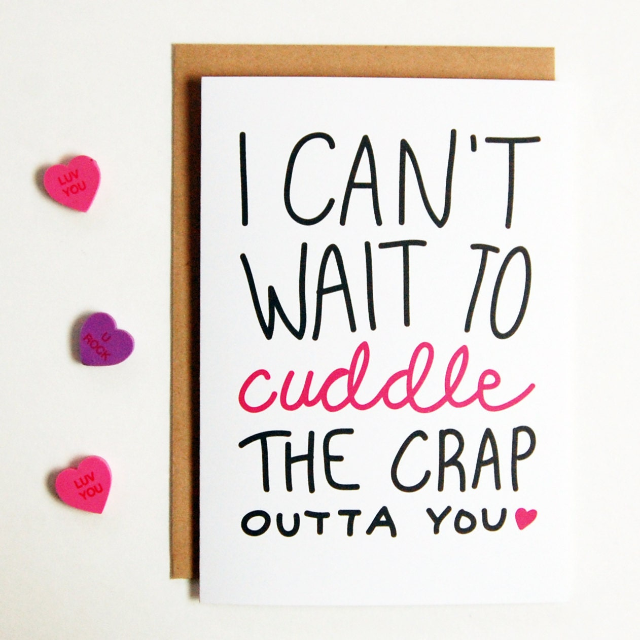 I Cant Wait To Cuddle Greeting Card long distance