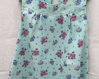 Toddler dress, girls summer dress size 2, toddlers sundress, girls beach dress.