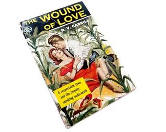 Vintage Paperback The Wound of Love by R V Cassill 1956 Avon Paperback 710 A Love Story About Moral Conflict Marriage Values Drama Cornfield