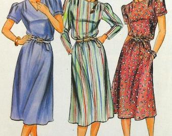 Butterick 4279 dress and belt, bust 34