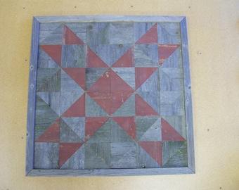 Reclaimed Wood Barn Quilt