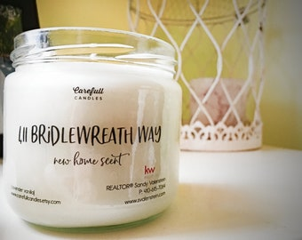 Client / Homebuyer Thank You Candles